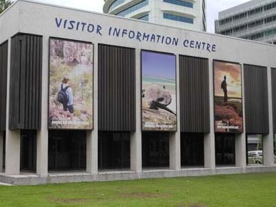 Top End Darwin Visitor Center Facade