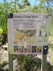 Shady Creek Trail Info Plaque