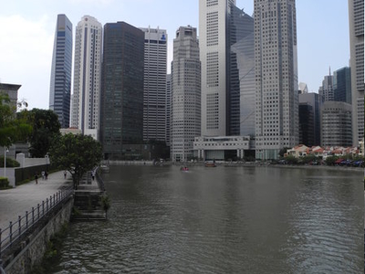 Singapore River At CBD