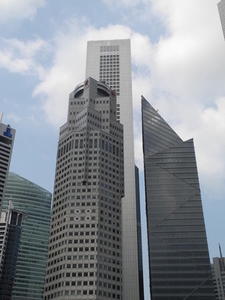 Southern Downtown Singapore Buildings