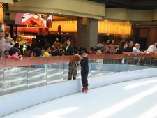 Skating Rink Within Mall