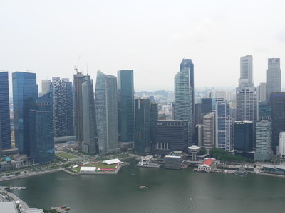 Marina Bay View With Downtown Core
