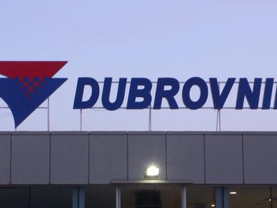 Dubrovnik  Airport Sign