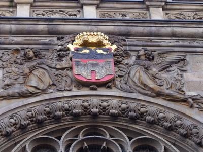 Duisburger  Wappen Am  Rathaus  Duisburg