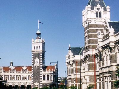 Dunedin Station And Courts
