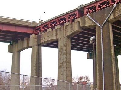 Dunn  Memorial  Bridge Stub End