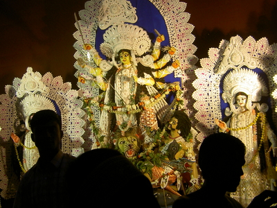 Durga Pooja Celebration At Contai