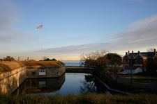 Dusk At Fort Monroe