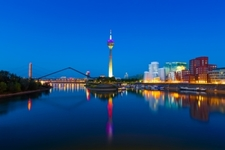 Dusseldorf City View