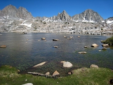 Dusy Basin In Kings Canyon