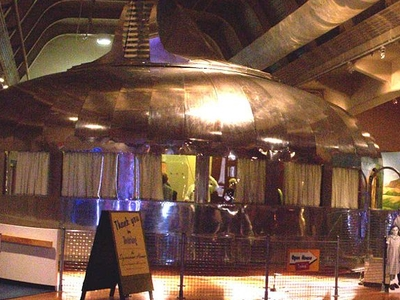 Dymaxion House In Henry Ford Museum