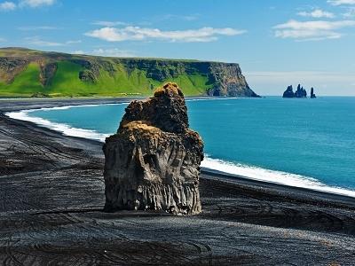 Dyrholaey - Volcanic Black Sand Beach