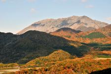 Daisen In Autumn