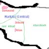 Damavand County Map