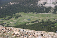Dana Meadows Looking From Mount Dana