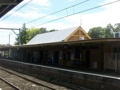 Dapto Railway Station