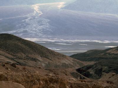 Dante's View, Salt Rivers Descends