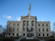 The DeKalb County Courthouse