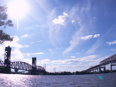 The Delair Bridge And The Betsy Ross Bridge