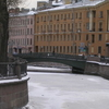 The Demidov Bridge Across The Canal