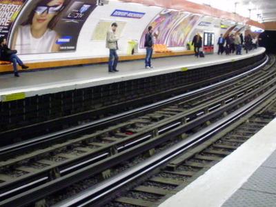 Line 6 Platforms At Denfert-Rochereau