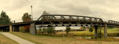 Panorama Of Denison Bridge
