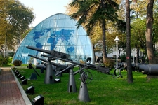 Garden Of The Istanbul Naval Museum