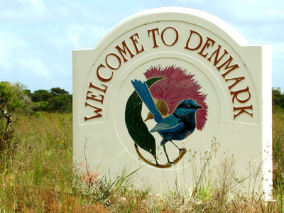Denmark Logo Sign