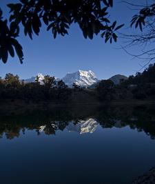 Chaukhamba Peak From Deoria Tal/Lake