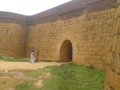 Exterior Of The Fort