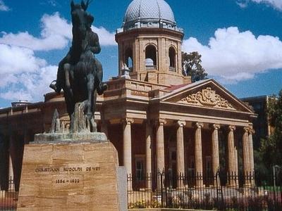 Statue Of Christiaan De Wet
