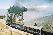 A Darjeeling Himalayan Railway Locomotive On Batasia Loop