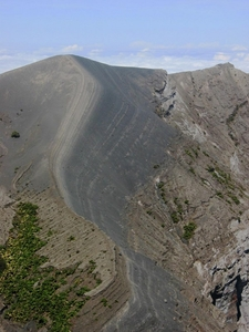 A Detail Of The Crater Edge