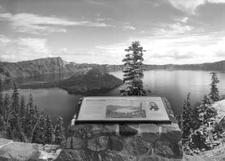 Discovery Point At Crater Lake