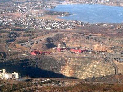 Dome Mine Open Pit