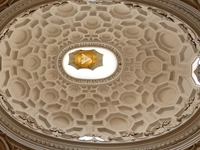The Dome With Its Intricate Geometrical Pattern