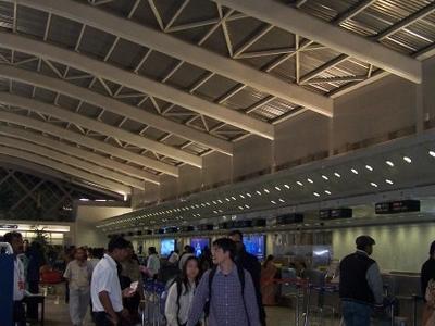 Domestic Airport At Santacruz