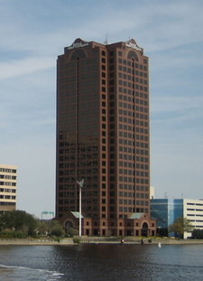 Tower From Over The Elizabeth River