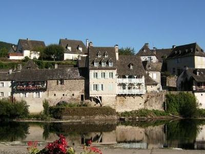 River Dordogne At Argentat