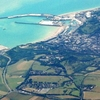 Aerial View Of Dover Harbour