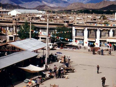 Downtown Shigatse