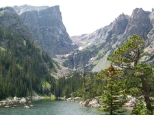 Hallett Peak From Dream Lake