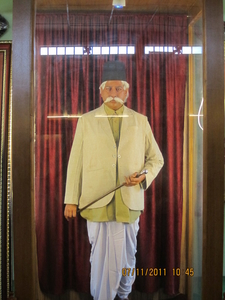 Dr . Keshav Baliram Hedgewar Figure At The Main Office In Nag