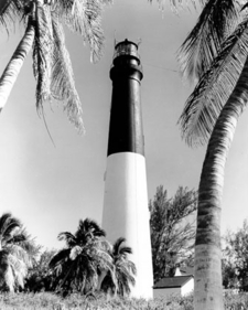 Dry Tortugas Light When The Upper Part Was Painted Black