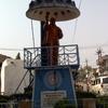 Dr Ambedkar Statue Outside Indora Buddha Vihara