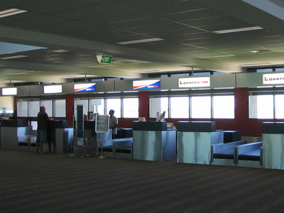 Check-in Area At Dubbo Airport