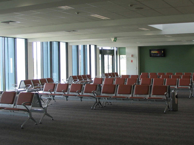 Departure Lounge At Dubbo Airport