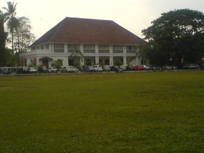 Ground View Of Durbar Hall