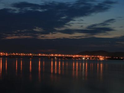 Dusk Over Saraighat Bridge