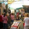 Clothing Stalls In Dordoy Bazaar
